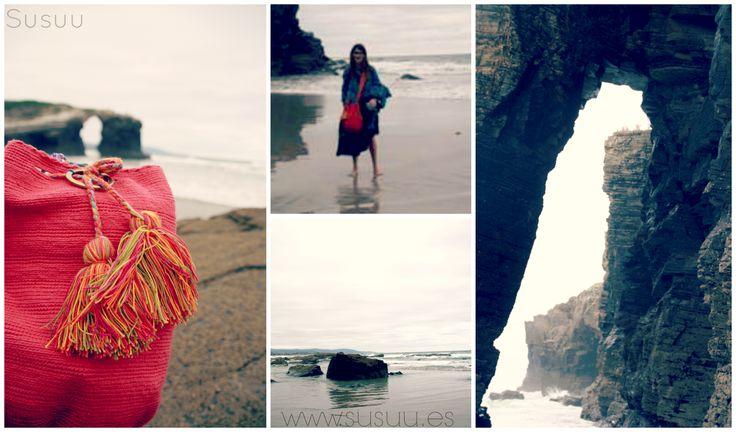 Susuu por la playa de las catedrales en Galicia!