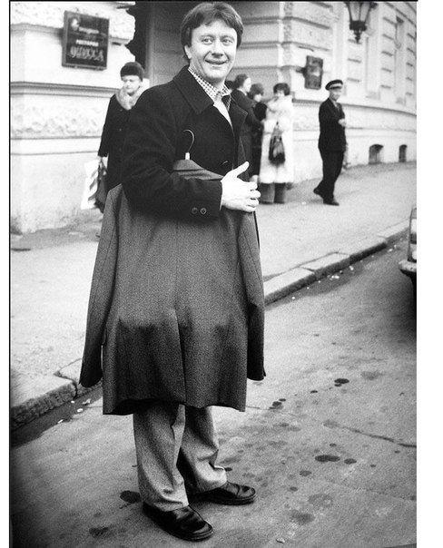 Андрей Миронов на гастролях в Одессе, начало 80-х.  #былоеЛЮДИ