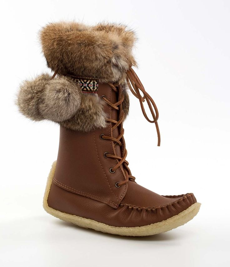 Womens laurentian chief snowshoe boots 9045 - 19045 brown