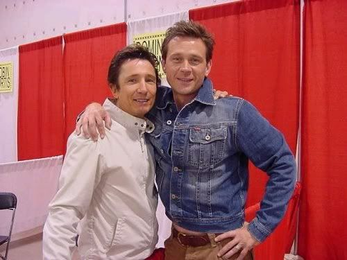 Fan Blog Dominic Keating (dragonfly811:   Friendship. Connor and Dominic...)