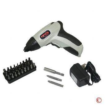 35 pc Cordless Electric Screwdriver Screw Driver & Bits