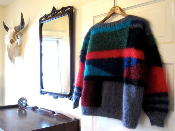 Mohair Sweater by TonyJaguarVintage on Etsy, $24.00