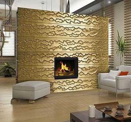 Decorative 3d Wall Panels Adding Dimension To Empty Walls In Modern Interiors