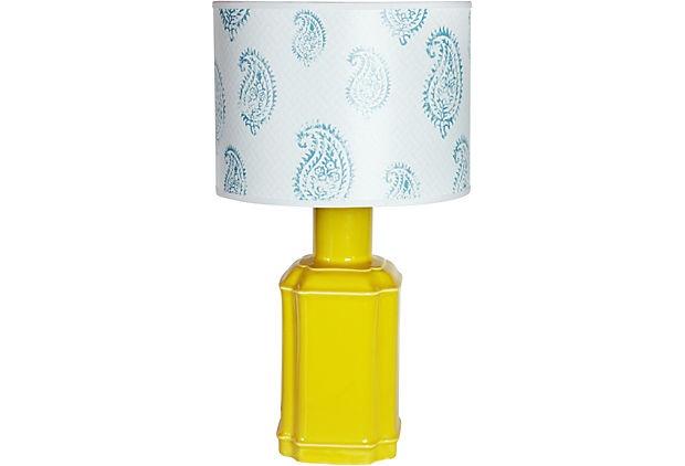 John Loecke  Jason O. Nixon    Mellow Yellow Table Lamp