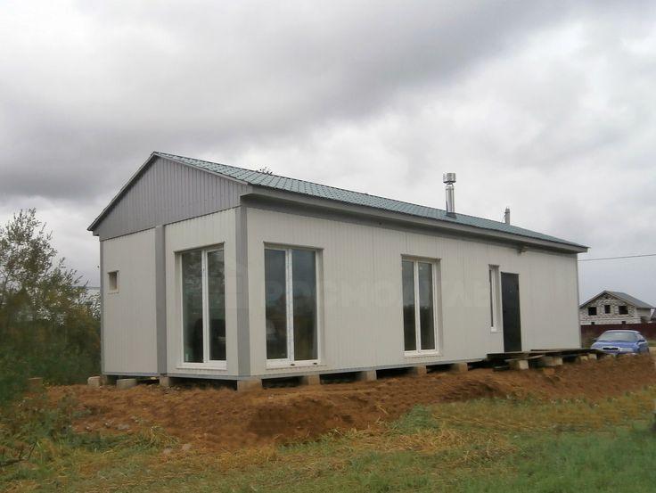 Мобильный дом - 13 х 4,9 м с сауной