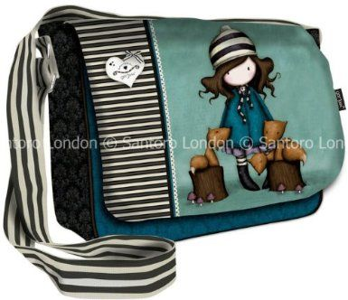 Gorjuss The Foxes Large Shoulder Bag BTS Handbag 36 x 34cms Santoro: Amazon.co.uk: Office Products