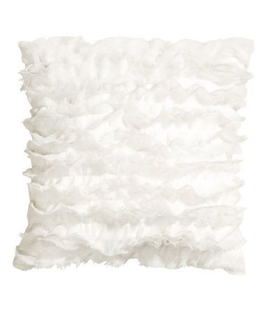 Product Detail | H&M US Ruffled Cushion Cover $12.95
