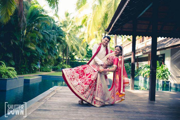 伝統的な文化が残るインド。別々の宗教を信じるカップルが、ちょっと変わった結婚式を挙げました。