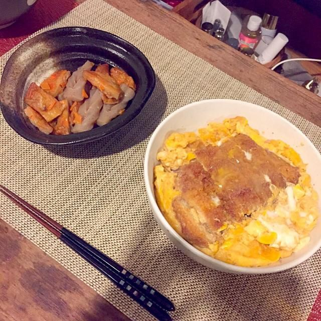 パパッとメニュー - 17件のもぐもぐ - カツ丼 by tknr