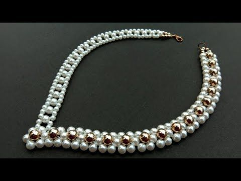 How to Make// Pearl Necklace//At Home//Pearl Necklace//DIY// useful & easy – You…