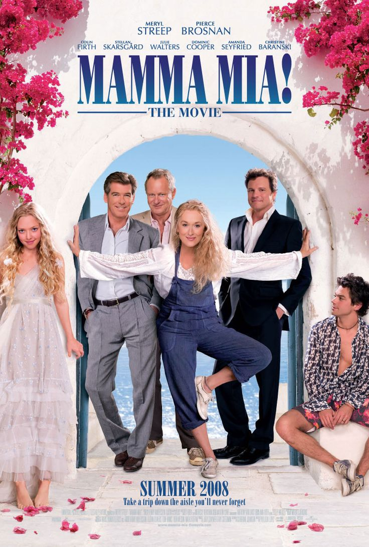 Mamma Mia! 2008. Filmed in Skiathos, Skopelos and Pilio