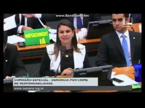 Deputada Mariana Carvalho em discurso na CESP - DENÚNCIA POR CRIME DE RE...