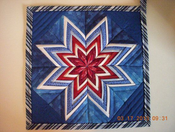 amish folded star instructions