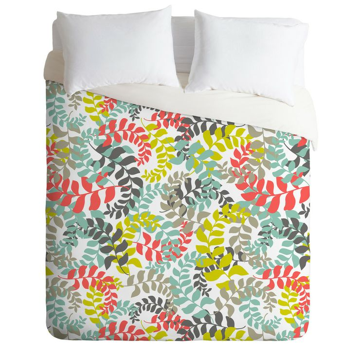 Heather Dutton Undertow Coral Duvet Cover | DENY Designs Home Accessories