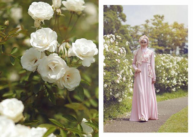 Flowery Hijab