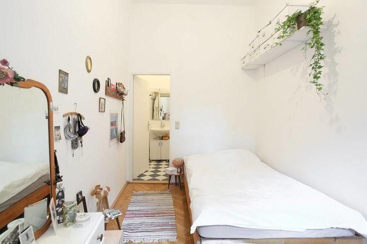 Wunderschönes, helles Schlafzimmer in Wiener Wohnung  #Wien #Schlafzimmer #Einrichtung #hell #bedroom #interior