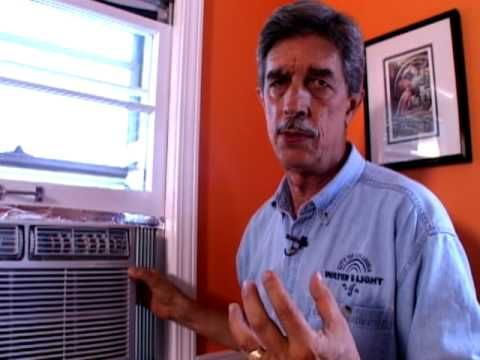 Window Air Conditioner Proper Installation