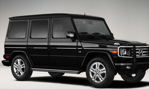 All black mercedes benz suv g550 starting at 113 000 for Mercedes benz that looks like a jeep