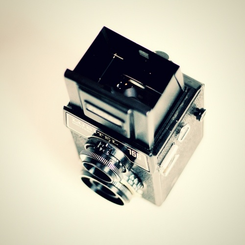 old, vintage analogue camera - lubitel 166