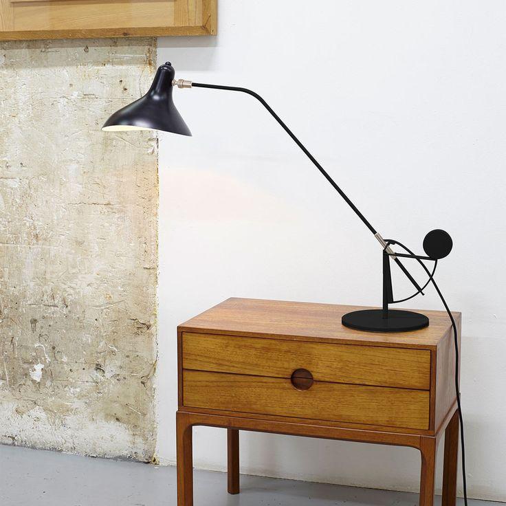 Nice Mantis BS Table Lamp by Bernard Schottlander