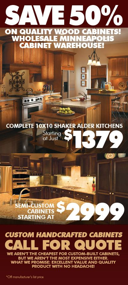 Minneapolis Kitchen Cabinets Shaker Alder Discount Kitchen Cabinets