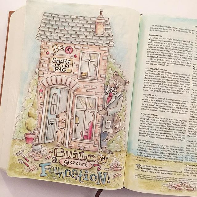 Bible Passage Build House On Rock