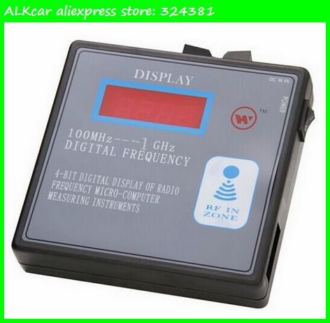 ALKcar 100mhz 1000mhz Remote Control Frequency Counter Scanner 100mhz 1ghz  Digital Frequency Detector Radio · Garage Door ...
