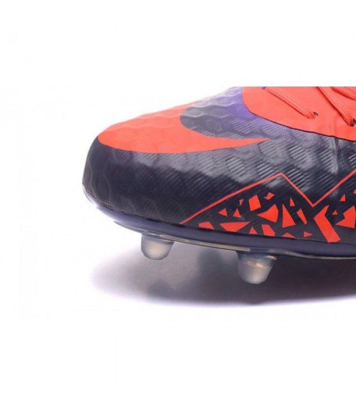 Acheter Nouveau Nike Hypervenom Phinish FG Chaussure de Football Hommes Carmin Obsidienne Violet pas cher en ligne 91,00€ sur http://cramponsdefootdiscount.com