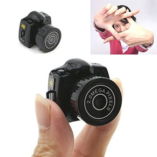 YYCAM The Smallest Tiny Mini Camera Micro Digital DVR Video Recording Cam Camcorder HD 640480 Y2000 -- Learn more by visiting the image link.