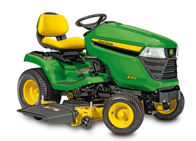 John Deere X300 Lawn Tractor - Search for best lawn products and find expert tips at: onlinepatiolawngardenstore.com