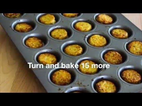Kalyn's Kitchen®: Low-Carb Cheesy Baked Cauliflower Tots