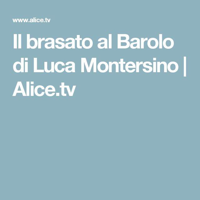 Il brasato al Barolo di Luca Montersino | Alice.tv