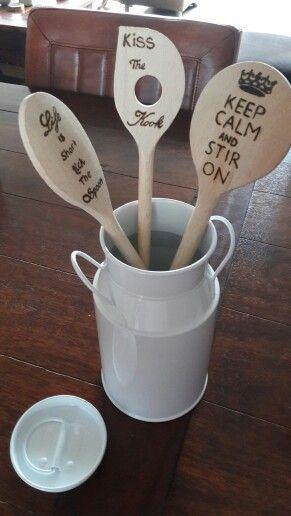 Spoon#houtbranden