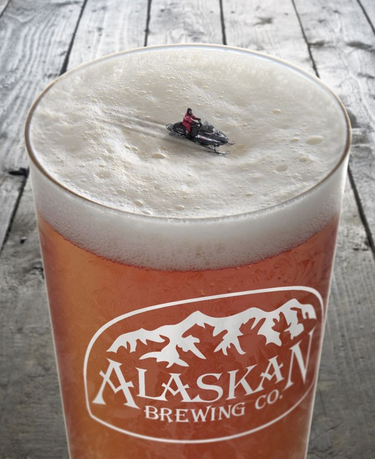 Creative Alaskan Brewing Print Ads