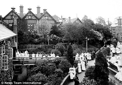 John Cadbury and his son's George and Richard built Bournville Village in Birmingham England.  A village for their employees to live in the late 1800's.  Just imagine if all employers cared after their employees in this fashion!