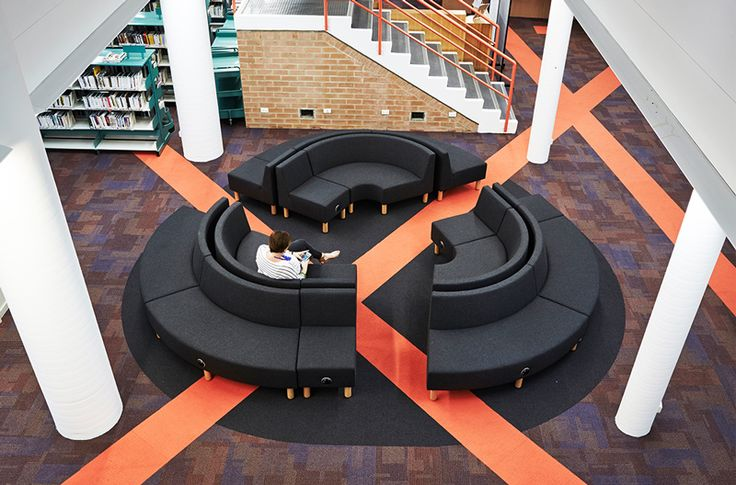 TAFE Cammeray has a make over thanks to Chris Hardy & Bellwood Group using Elsafe's Pixel to keep people connected in funky breakout areas. See more at: http://elsafe.com.au/en/tafe-cammeray #tafe #furniture #pixel