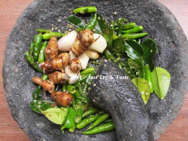 Sambal Seruit dan Ikan Bakar