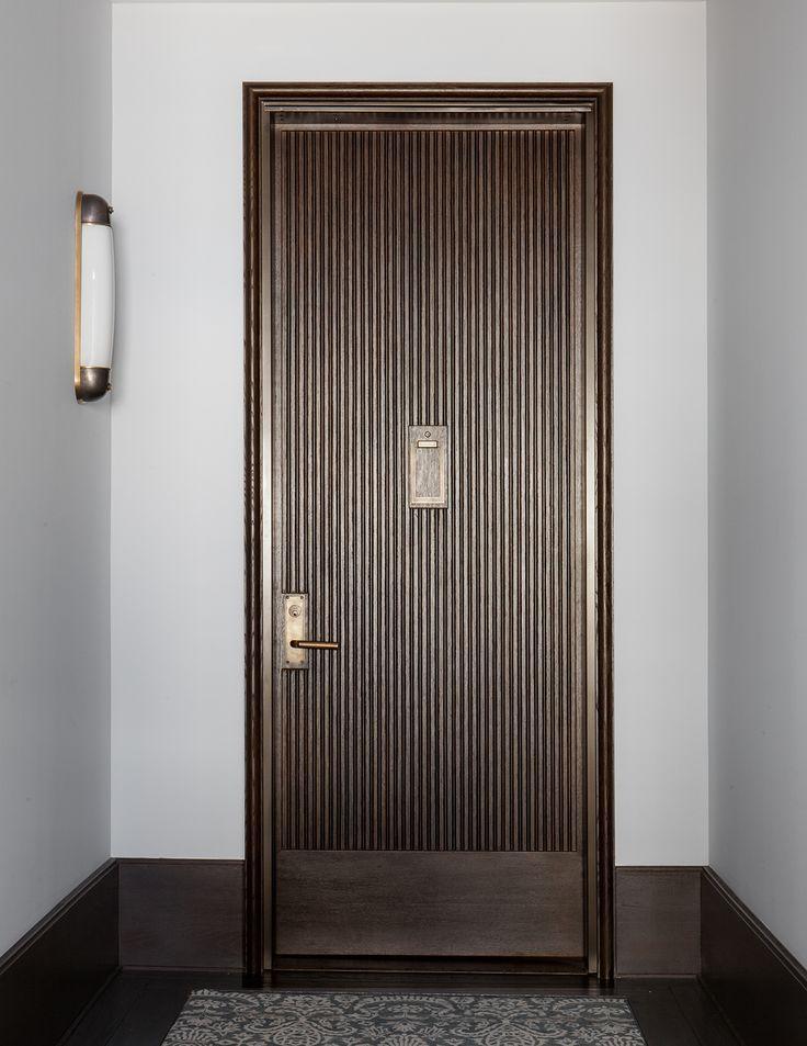 1469 best minimalist doors images on pinterest for Front door design for flats