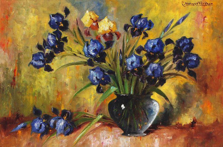 Мобильный LiveInternet Полевые цветы... Carl Holger Fischer   Golyb-ka - Дневник…