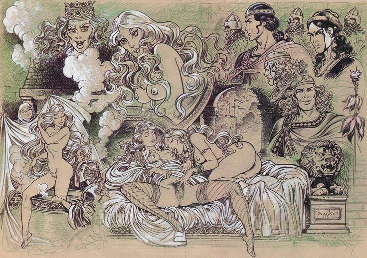 Magnus - Femmine Incantate - Erotismo Esplicito