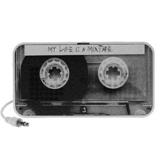 My Life Is A Mixtape. - desktop speakers. get it on : http://www.zazzle.com/my_life_is_a_mixtape_desktop_speakers-166470056709613352?rf=238054403704815742&tc=pinterest