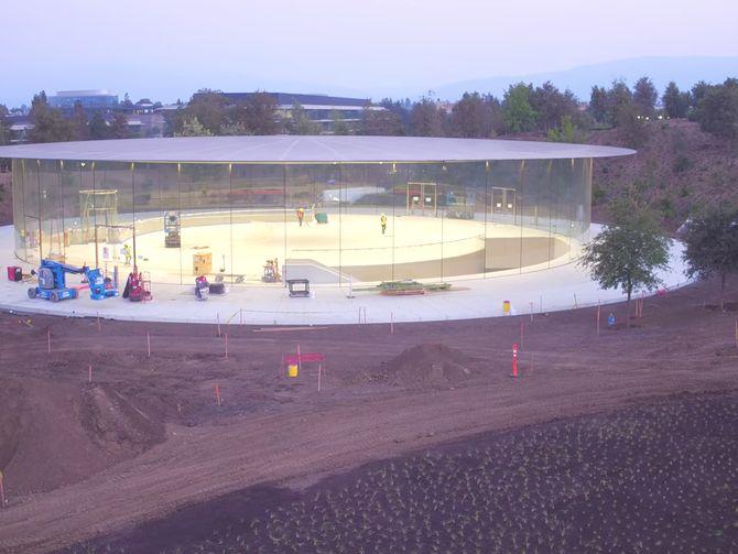Apple Park listo para la celebración del iPhone 8 y Apple Watch 3 - CNET en Español