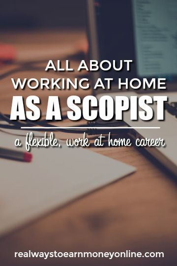 "Did you know you can work from home as a scopist? This is a lesser-known work at home field ideal for people with ""eagle eyes."""
