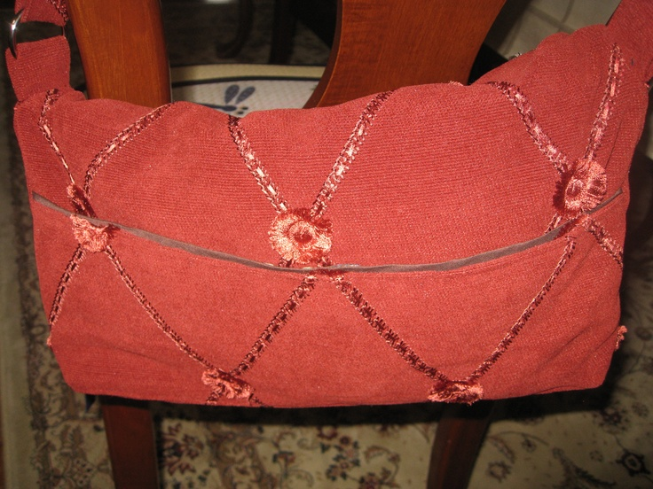 Handbag made for charity auction.