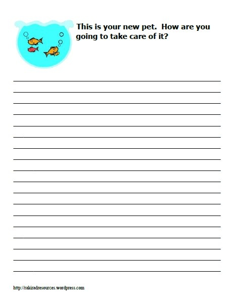 2nd Grade Writing Prompts & Composition Worksheets