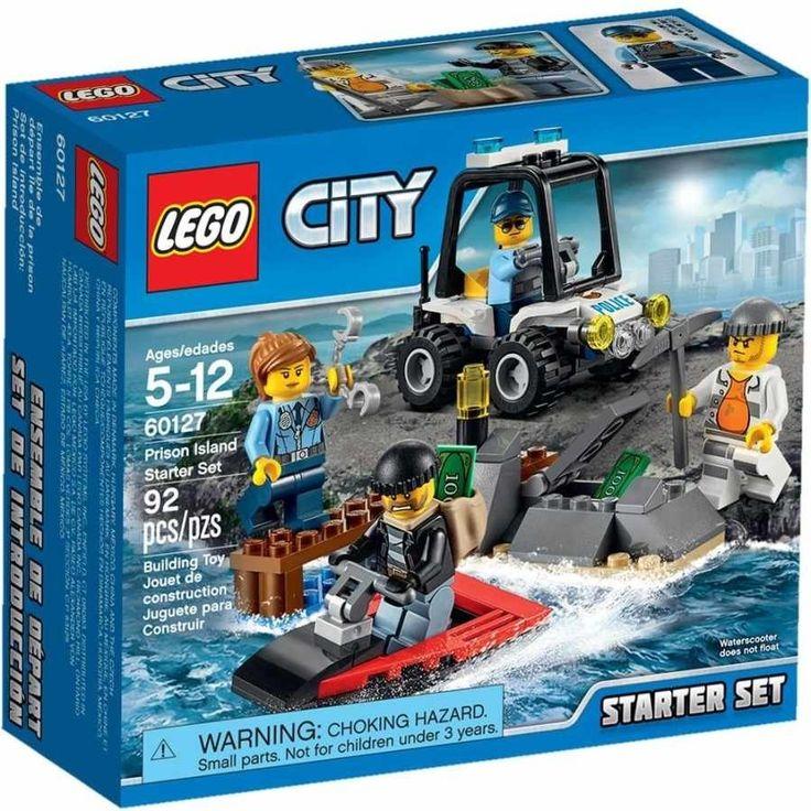 Lego City 60127 Vězení na ostrově Startovací sada - 0