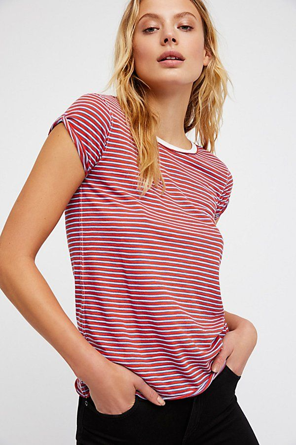 Slide View 1: We The Free Stripe Clare Tee