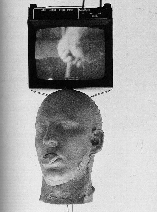 "bruce nauman, ""being is nothing"", 1993"