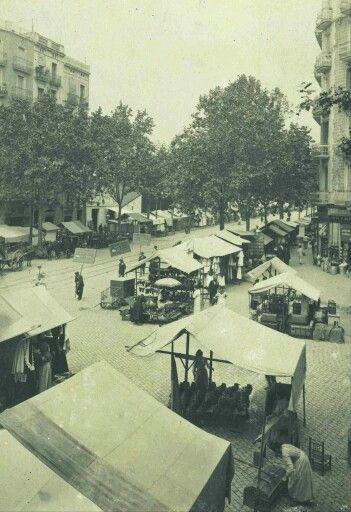 Els encants de sant Antoni, Barcelona 1913