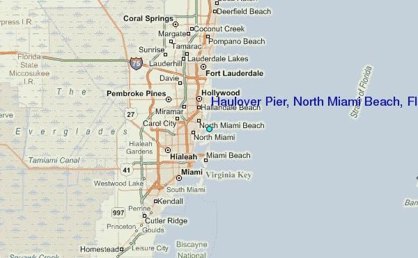 Haulover Pier, North Miami Beach, Florida Tide Station -5049